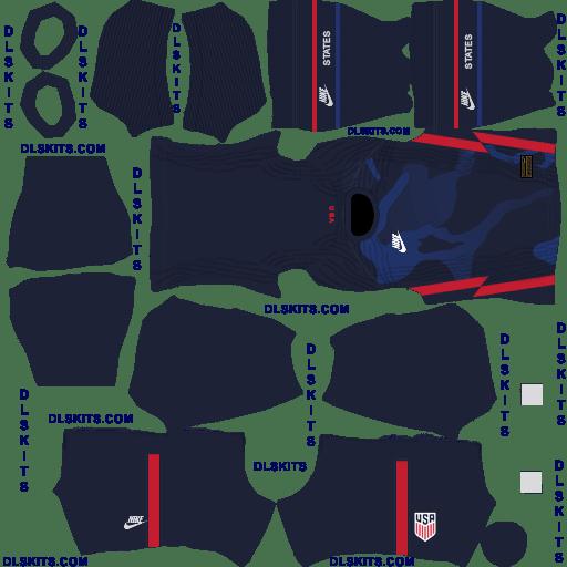 Nike USA 2020 Away Dream League Soccer Kits