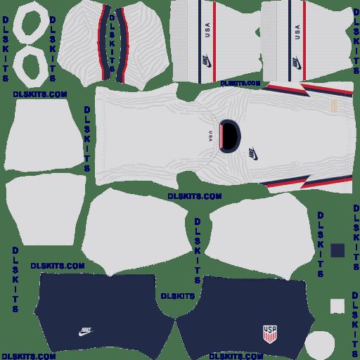 Nike USA 2020 Home Dream League Soccer Kits
